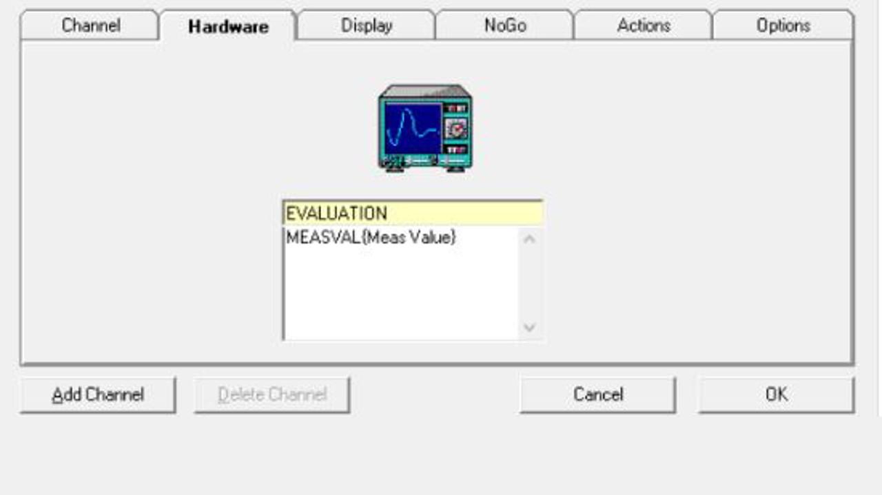 "EMC32: EUT Monitoring, use of the Device ""Evaluation"""
