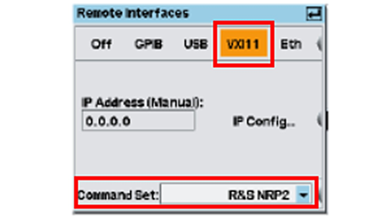Remote interfaces