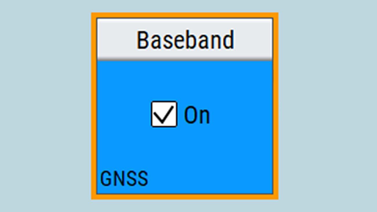 Baseband on