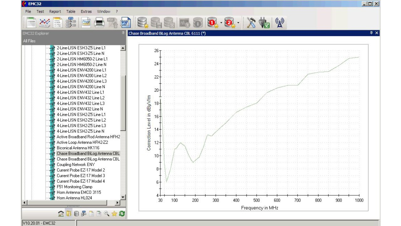 Show Graphic of a Transducer using EMC32