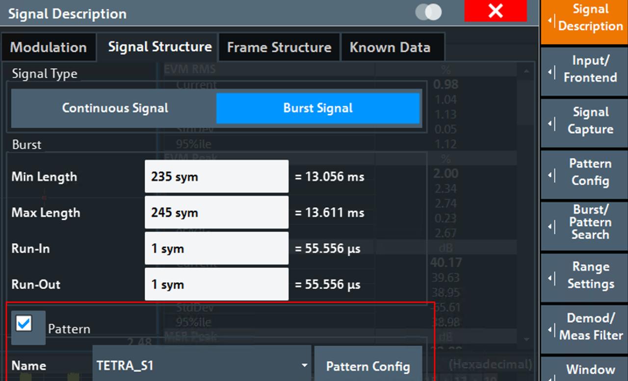 Signal description