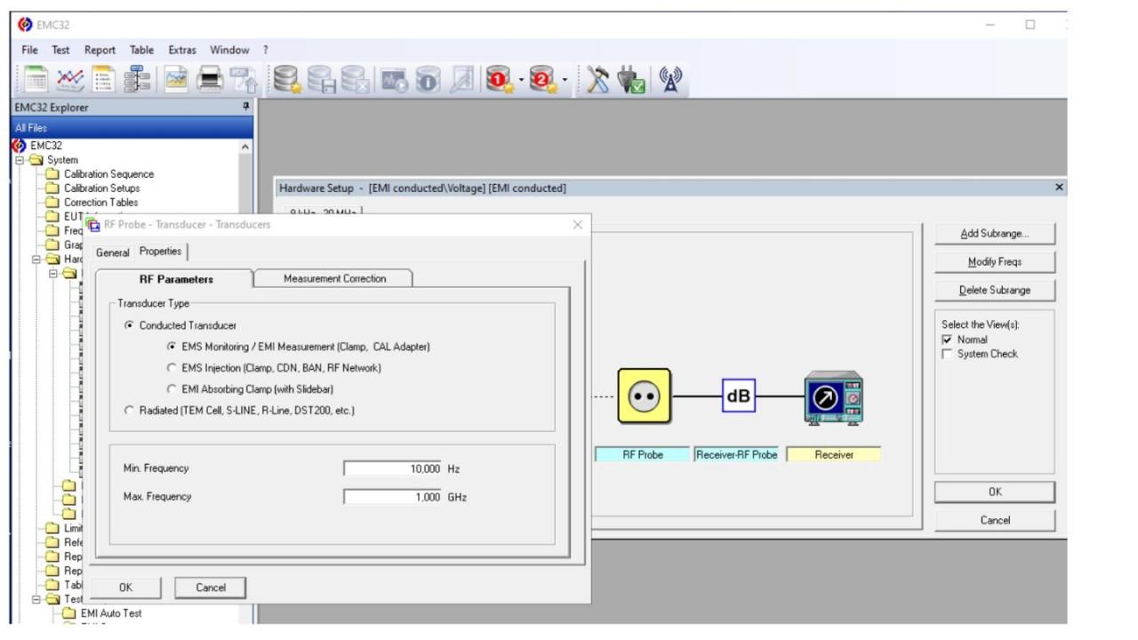 Using an EMI Probe with EMC32