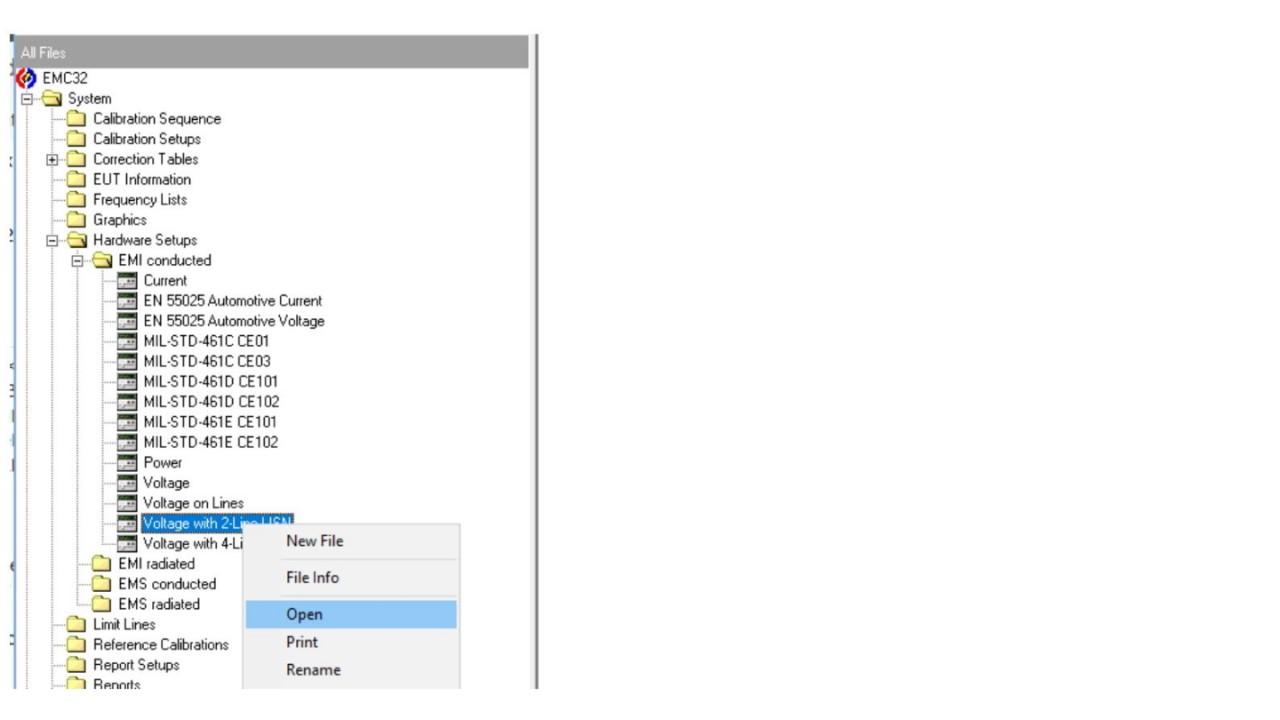 EMC32: Add attenuation table to Signal Path - screen 6