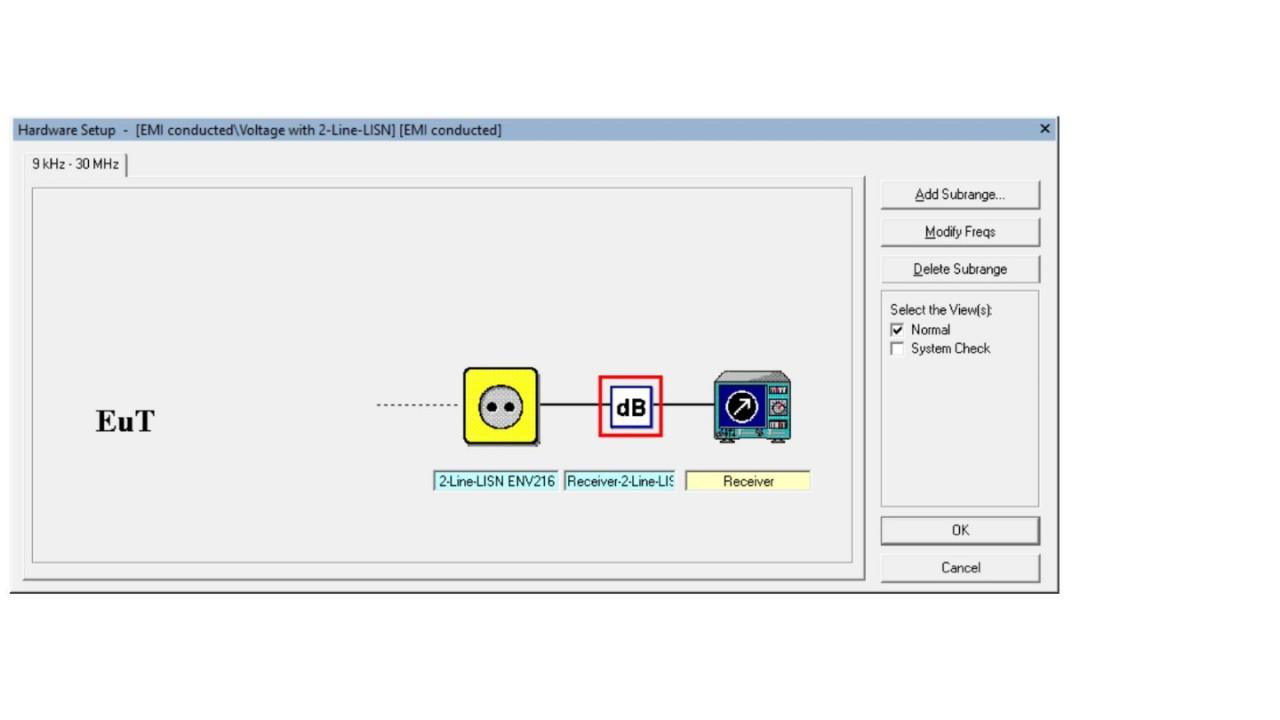 EMC32: Add attenuation table to Signal Path - screen 7