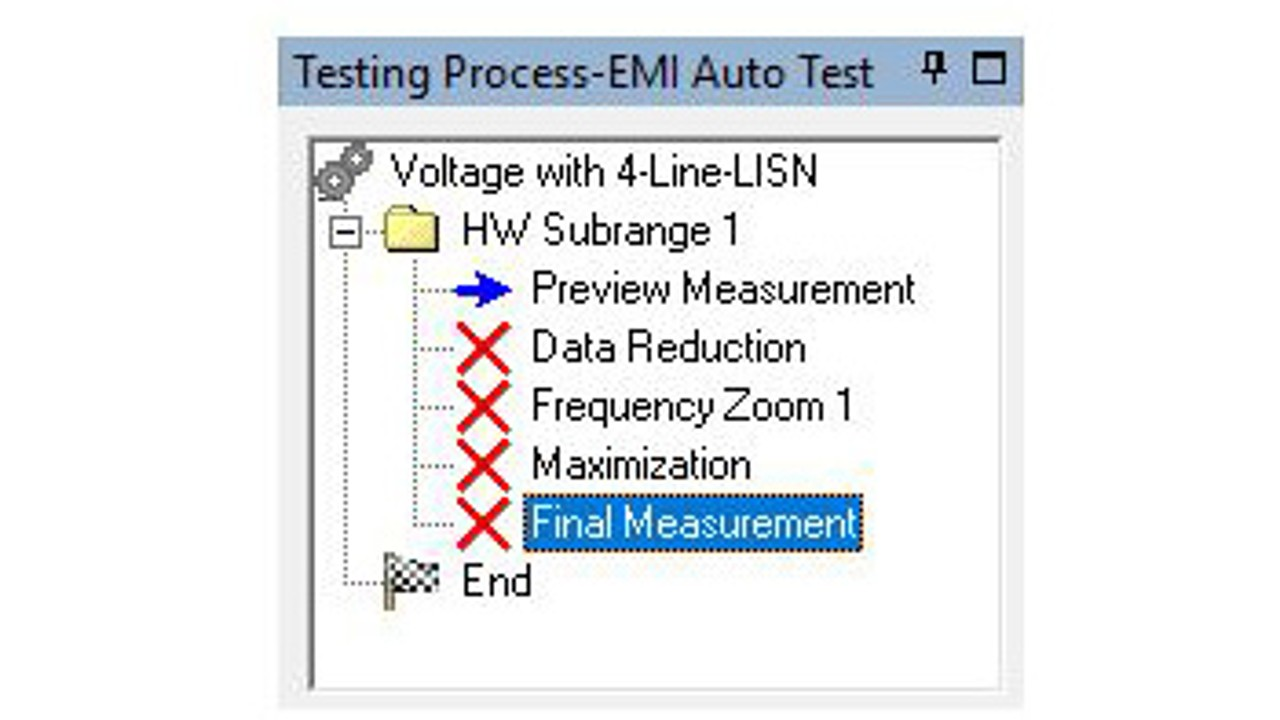 EMC32, display preview results of all LISN phases