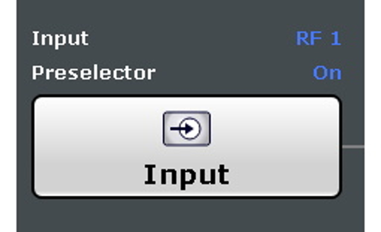 How to set the preselector to off