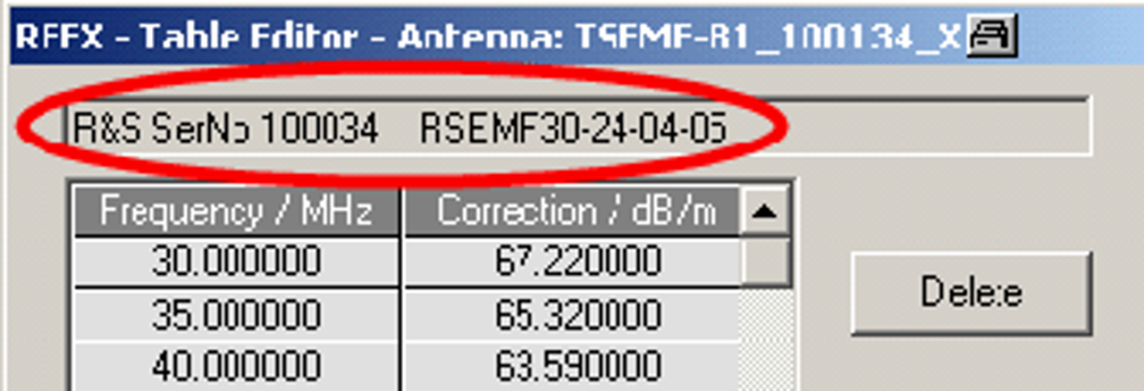 RFEX: Error while switching tri-axis probe