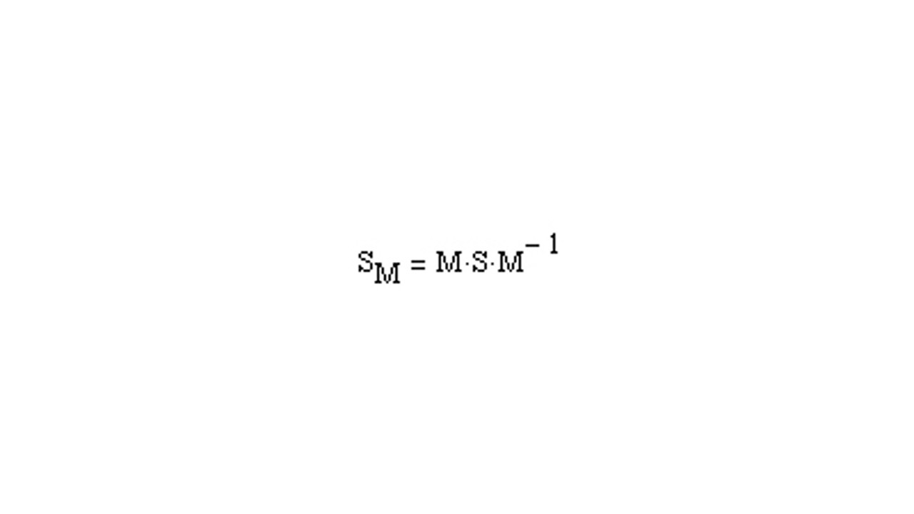 Calculate the mixed-mode S-parameter from an S4P file